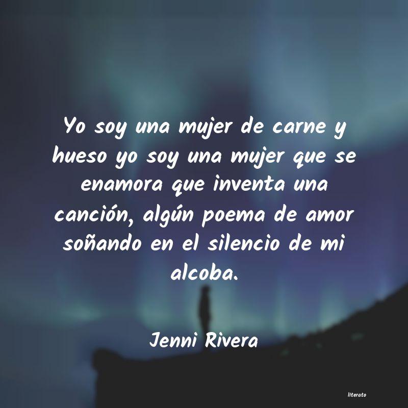 Jenni Rivera Yo Soy Una Mujer De Carne Y Hu