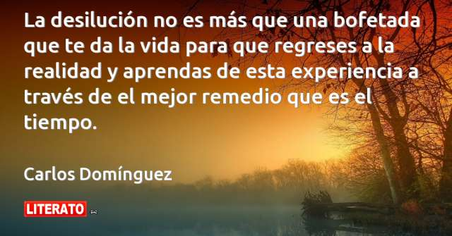 Frases de Carlos Domínguez