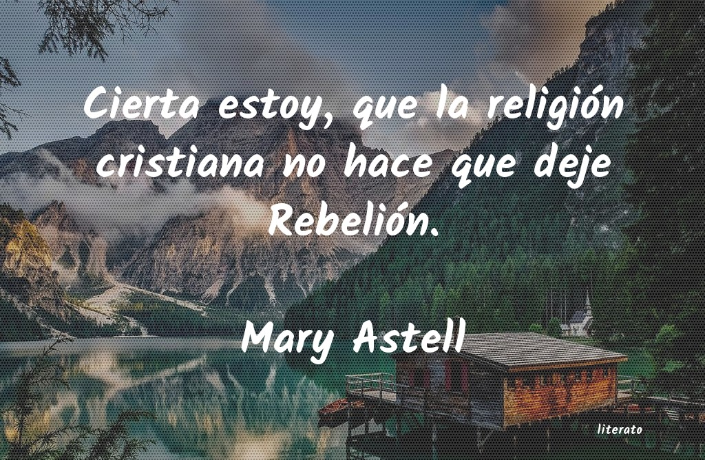 Frases de Mary Astell