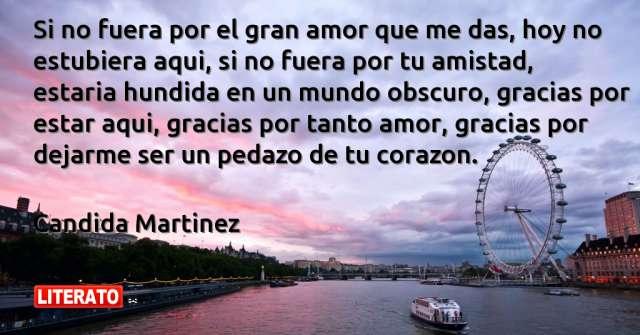 Frases de Candida Martinez