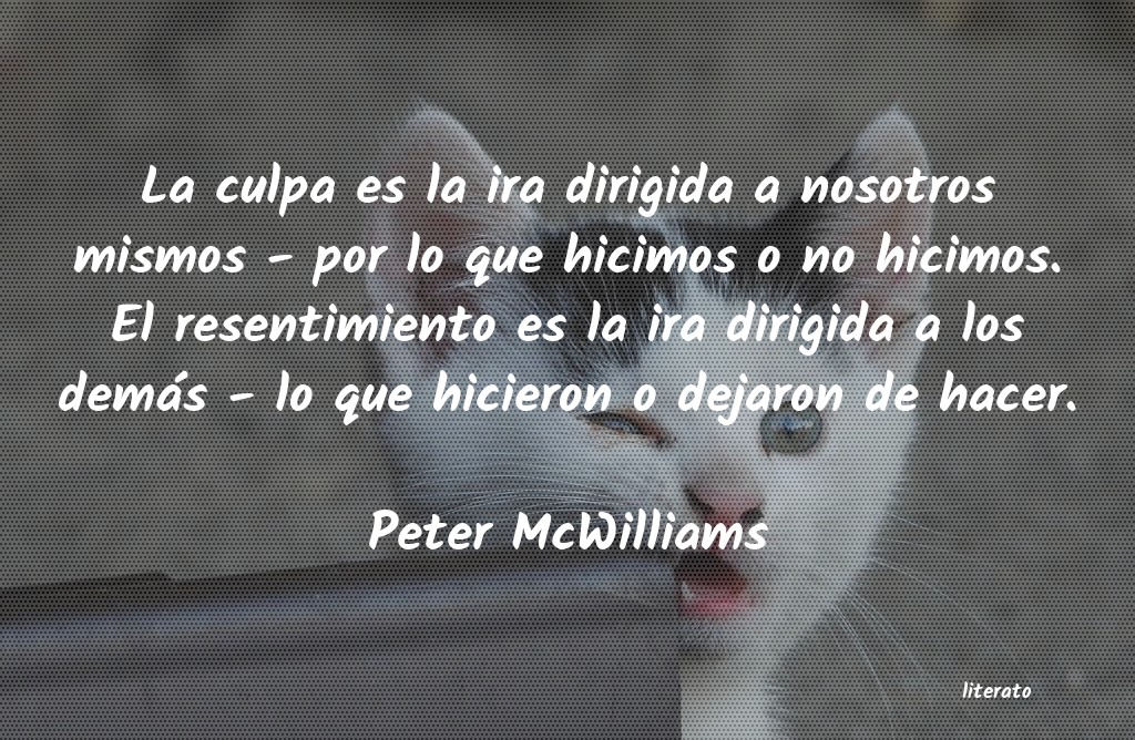 Frases de Peter McWilliams
