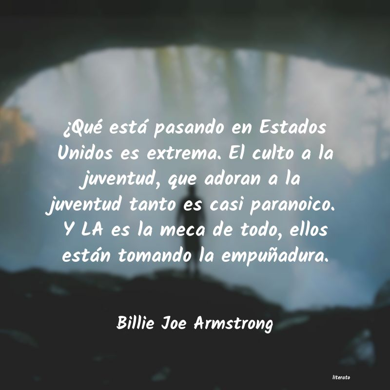 Frases de Billie Joe Armstrong