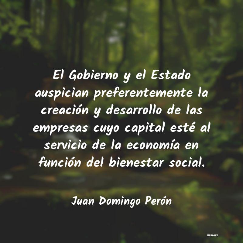 Juan Domingo Perón El Gobierno Y El Estado Auspic