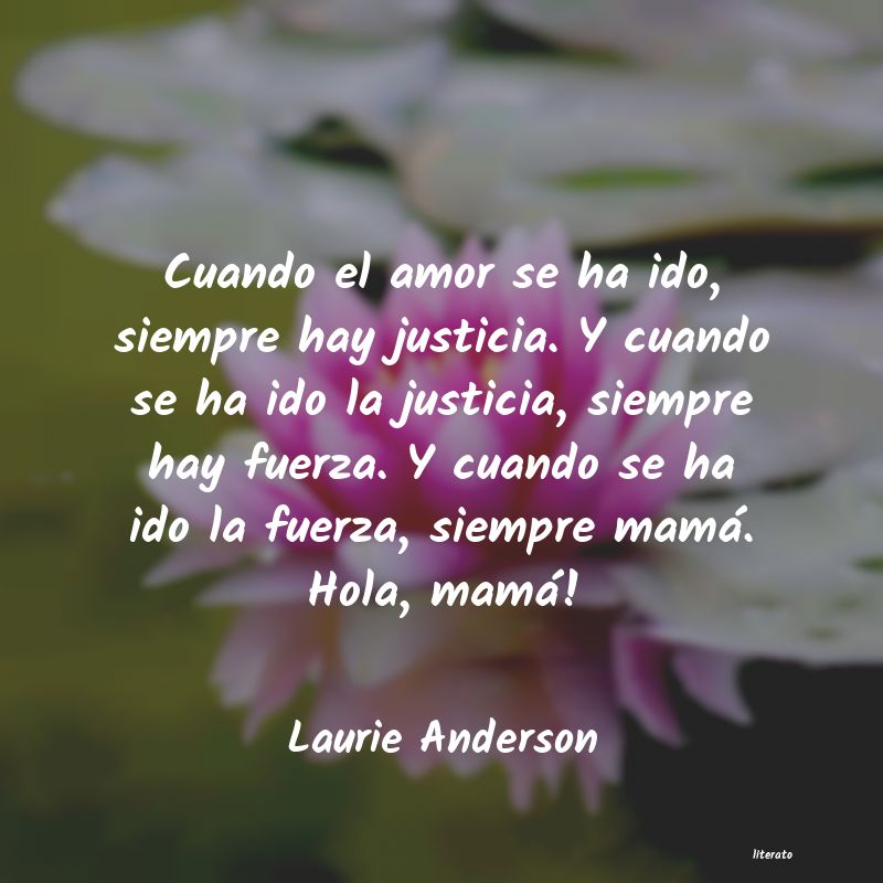 Frases de Laurie Anderson