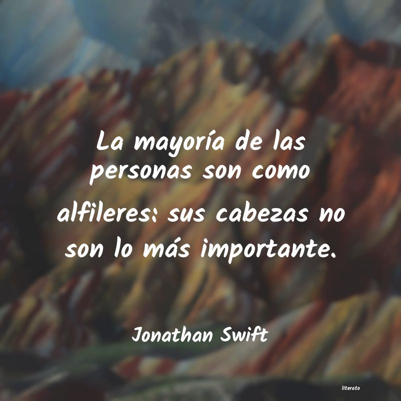 Frases de Jonathan Swift