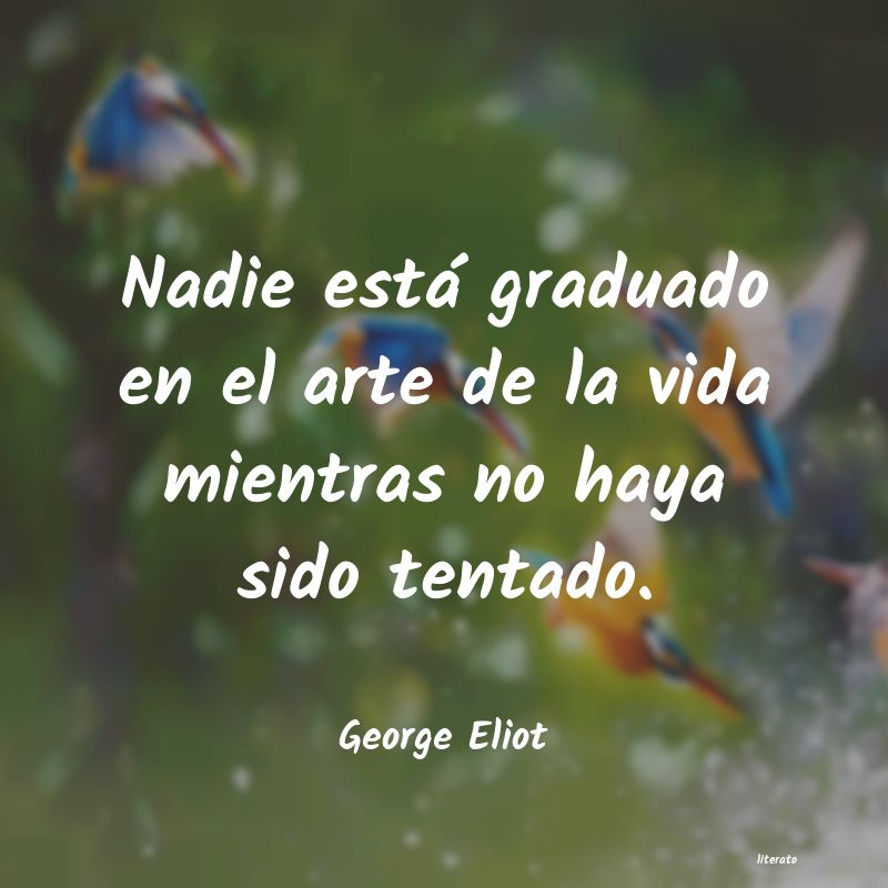 Frases de George Eliot