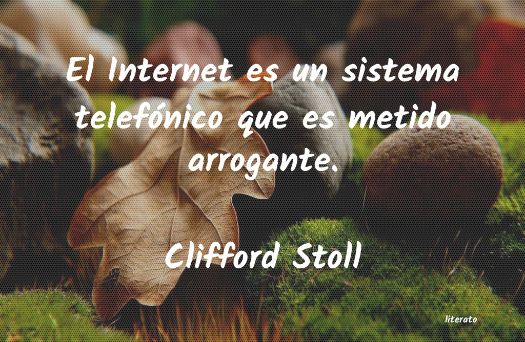 Frases de Clifford Stoll