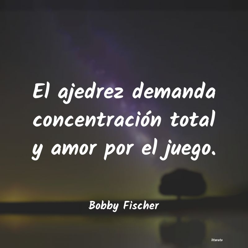 Bobby Fischer El Ajedrez Demanda Concentraci