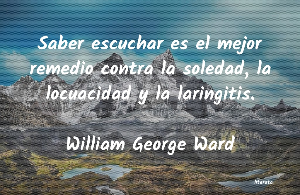 Frases de William George Ward