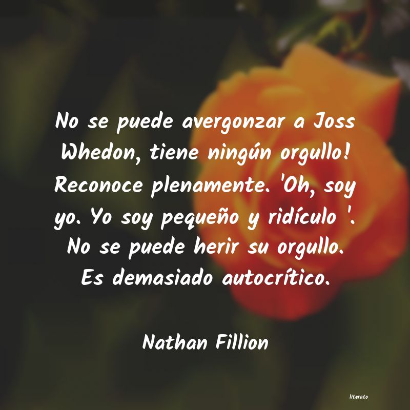 Frases de Nathan Fillion