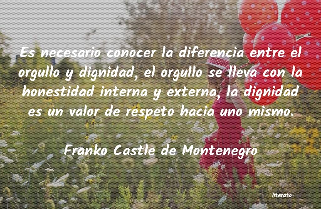 Frases De Franko Castle De Montenegro Literato