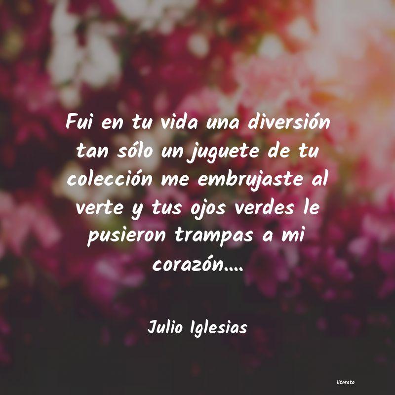 Julio Iglesias Fui En Tu Vida Una Diversión