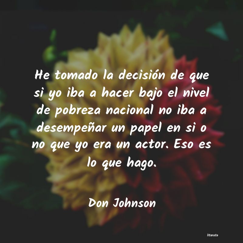 Frases de Don Johnson