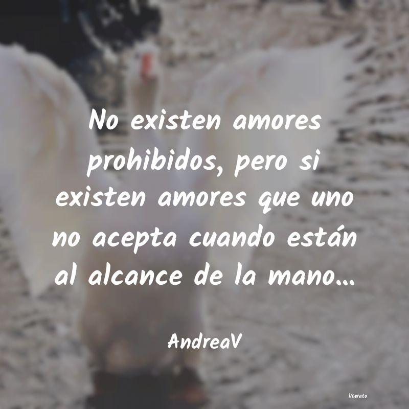 Andreav No Existen Amores Prohibidos