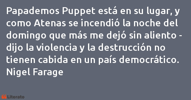 Frases de Nigel Farage