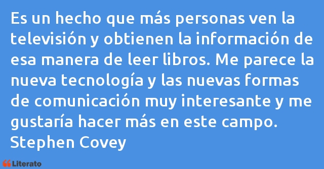 Frases de Stephen Covey