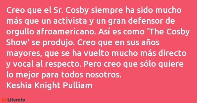 Frases de Keshia Knight Pulliam