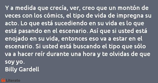 Frases de Billy Gardell