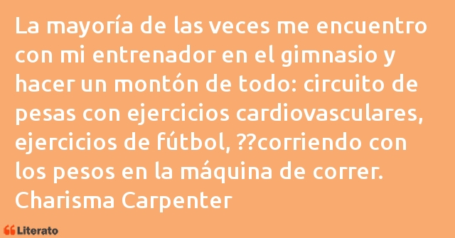 Frases de Charisma Carpenter