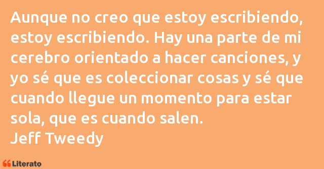 Frases de Jeff Tweedy