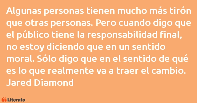 Frases de Jared Diamond