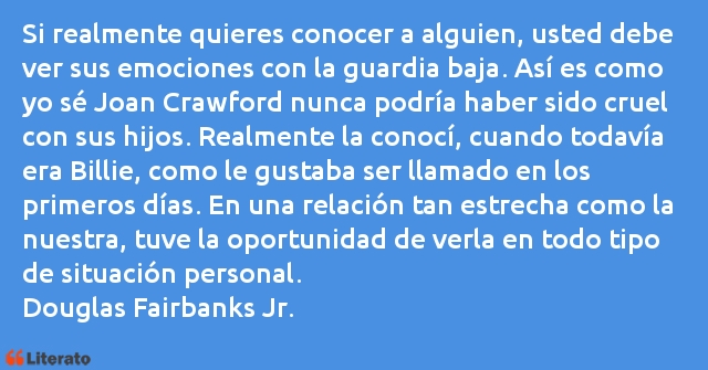 Frases de Douglas Fairbanks Jr.