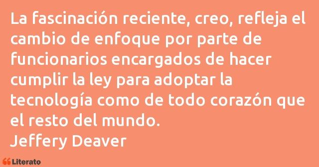 Frases de Jeffery Deaver