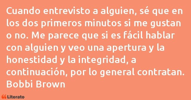 Frases de Bobbi Brown