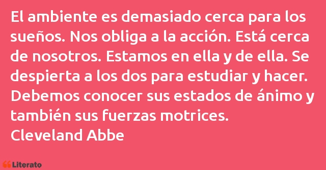 Frases de Cleveland Abbe
