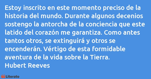 Frases de Hubert Reeves