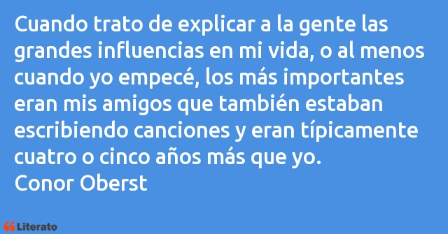 Frases de Conor Oberst