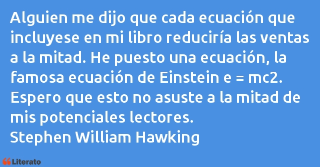 Frases de Stephen William Hawking