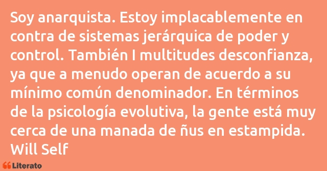 Frases de Will Self