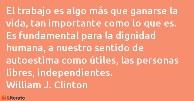 Frases de Bill Clinton