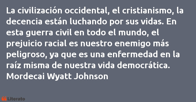 Frases de Mordecai Wyatt Johnson
