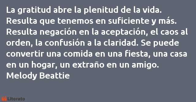 Frases de Melody Beattie