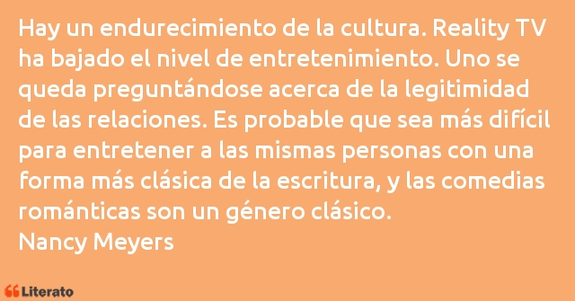 Frases de Nancy Meyers