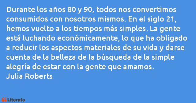 Julia Roberts Durante Los Años 80 Y 90 Tod
