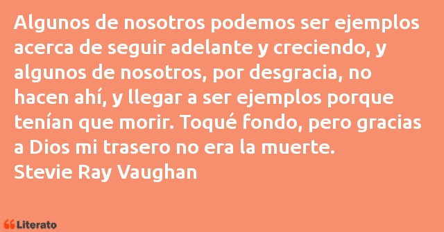 Frases de Stevie Ray Vaughan