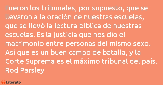 Frases de Rod Parsley