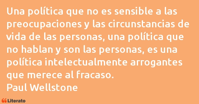 Frases de Paul Wellstone