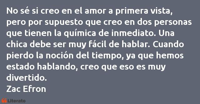Zac Efron No Sé Si Creo En El Amor A Pr