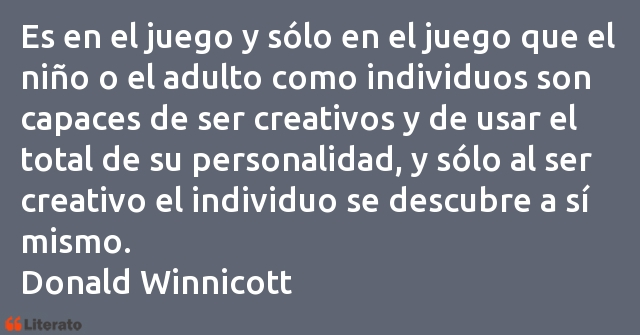 Frases de Donald Winnicott