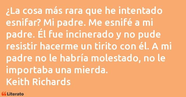 Frases de Keith Richards