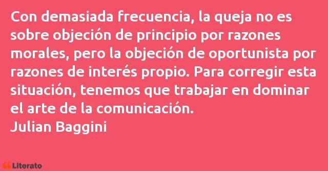 Julian Baggini Con Demasiada Frecuencia La Q