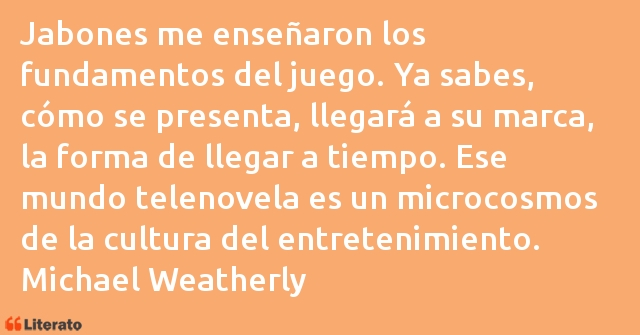Frases de Michael Weatherly