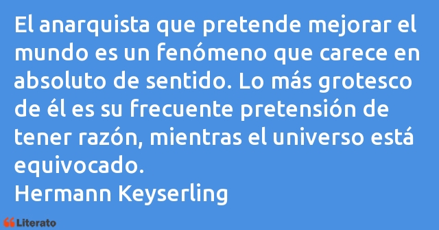 Frases de Hermann Keyserling