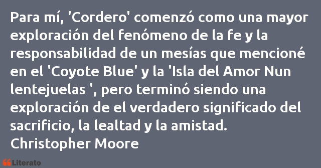 Frases de Christopher Moore