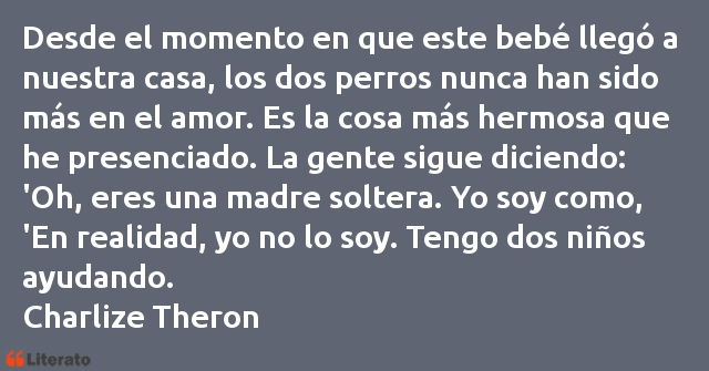 Frases de Charlize Theron