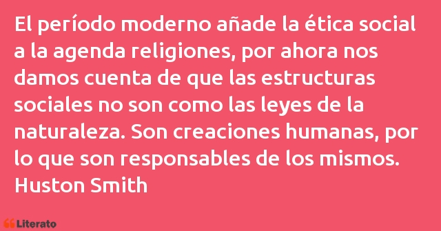 Frases de Huston Smith